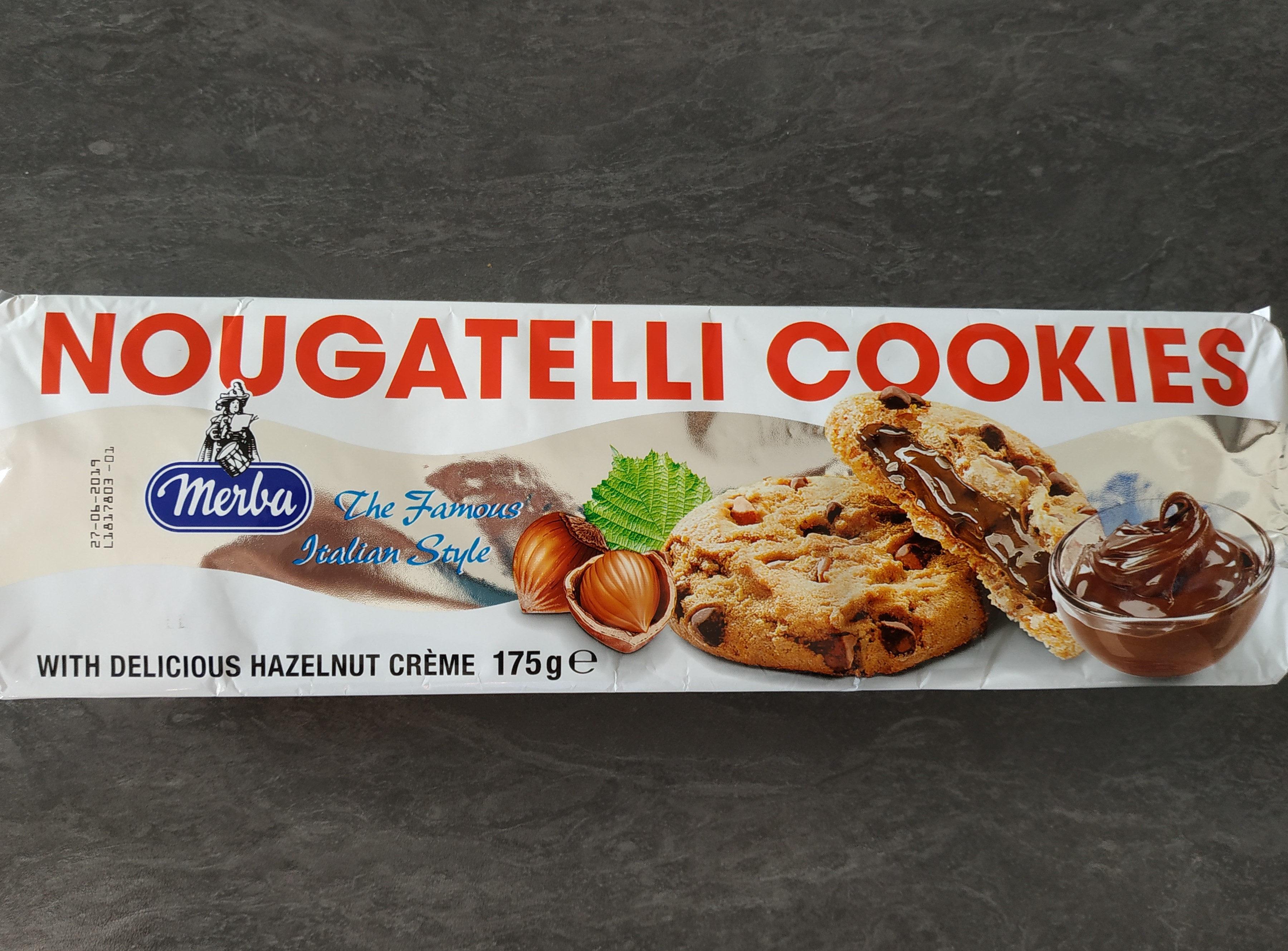 Nugatelli Cookies - Ingrédients - fr
