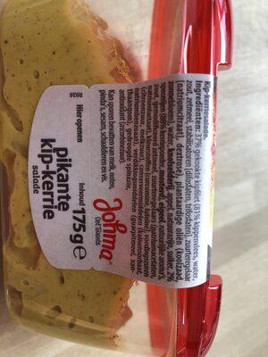 Pikante Kip Kerrie salade - Ingredients - nl