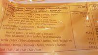 Sunbest Fruit Biscuits Raisin & Forest Fruit - Informations nutritionnelles - fr