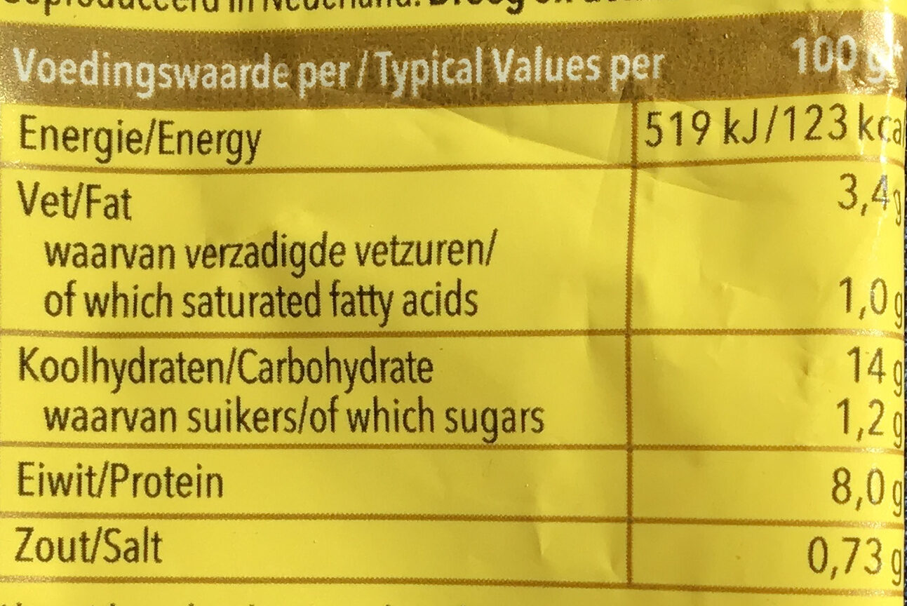 Nasi Goreng - Nutrition facts - nl