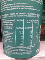 Vietnamese pho vaso 60 g - Nutrition facts