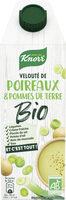 Knorr Velouté Bio de Pomme de Terre et Poireaux - Prodotto - fr