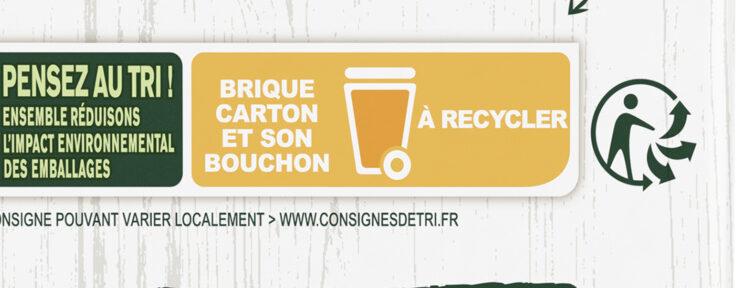 Knorr Velouté Bio de Pomme de Terre et Poireaux - Istruzioni per il riciclaggio e/o informazioni sull'imballaggio - fr