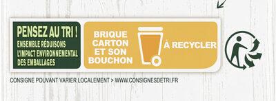 Knorr Velouté Bio de Légumes Variés - Istruzioni per il riciclaggio e/o informazioni sull'imballaggio - fr