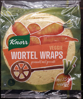 Veggie wortel wraps - Product - nl