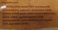 Wortel wraps - Ingrediënten - nl
