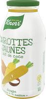 Knorr Soupe Bouteille Carottes Jaunes et Lait de Coco - Prodotto - fr