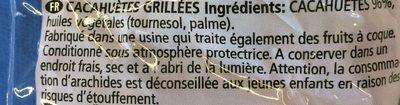 Peanuts - Ingrédients - fr