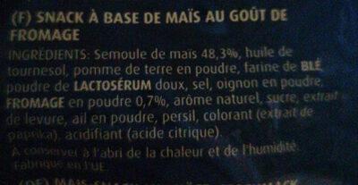Cheese - Ingrediënten - fr