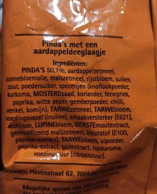 Happy Nuts - Ingredients - en