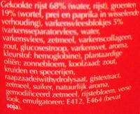 Nasi Goreng - Ingrediënten - nl