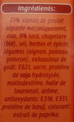 Hamburger - Ingrediënten