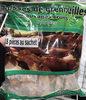 Cuisses de grenouilles sauvages crues congelées - Produit