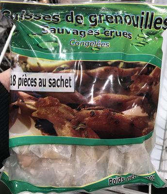 Cuisses de grenouilles sauvages crues congelées - Produit - fr