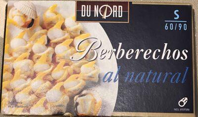 Berberechos al natural - Produit