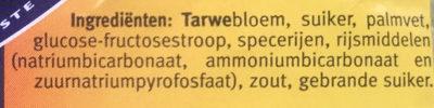 Kruidnootjes - Ingredients - nl