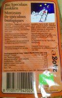 Morceaux de spéculoos biologiques - Product