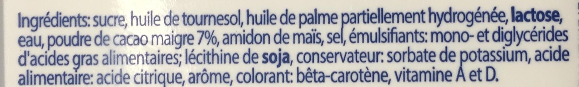 Choba - Ingrédients - fr