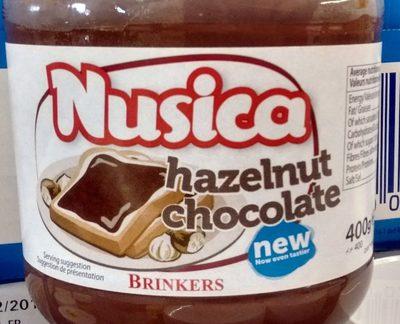 Nusica - Pâte à tartiner aux noisettes chocolate - Prodotto - fr
