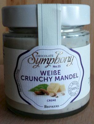 Chocolate Symphony No. 11 Weiße Crunchy Mandel Creme - Product - de