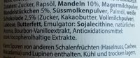 Chocolate Symphony No. 11 Weiße Crunchy Mandel Creme - Ingredients - de