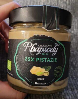 Chocolate Rhapsody No. 14 25% Pistazie - Prodotto - de