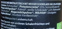 Chocolate Rhapsody No. 14 25% Pistazie - Ingredienti - de