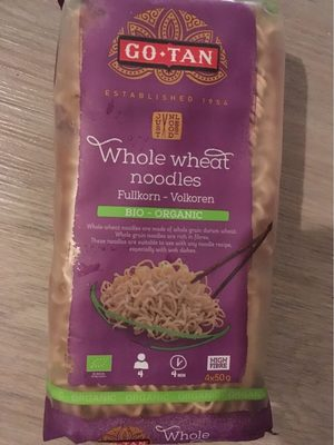 Whole wheat noodles - Produit - fr
