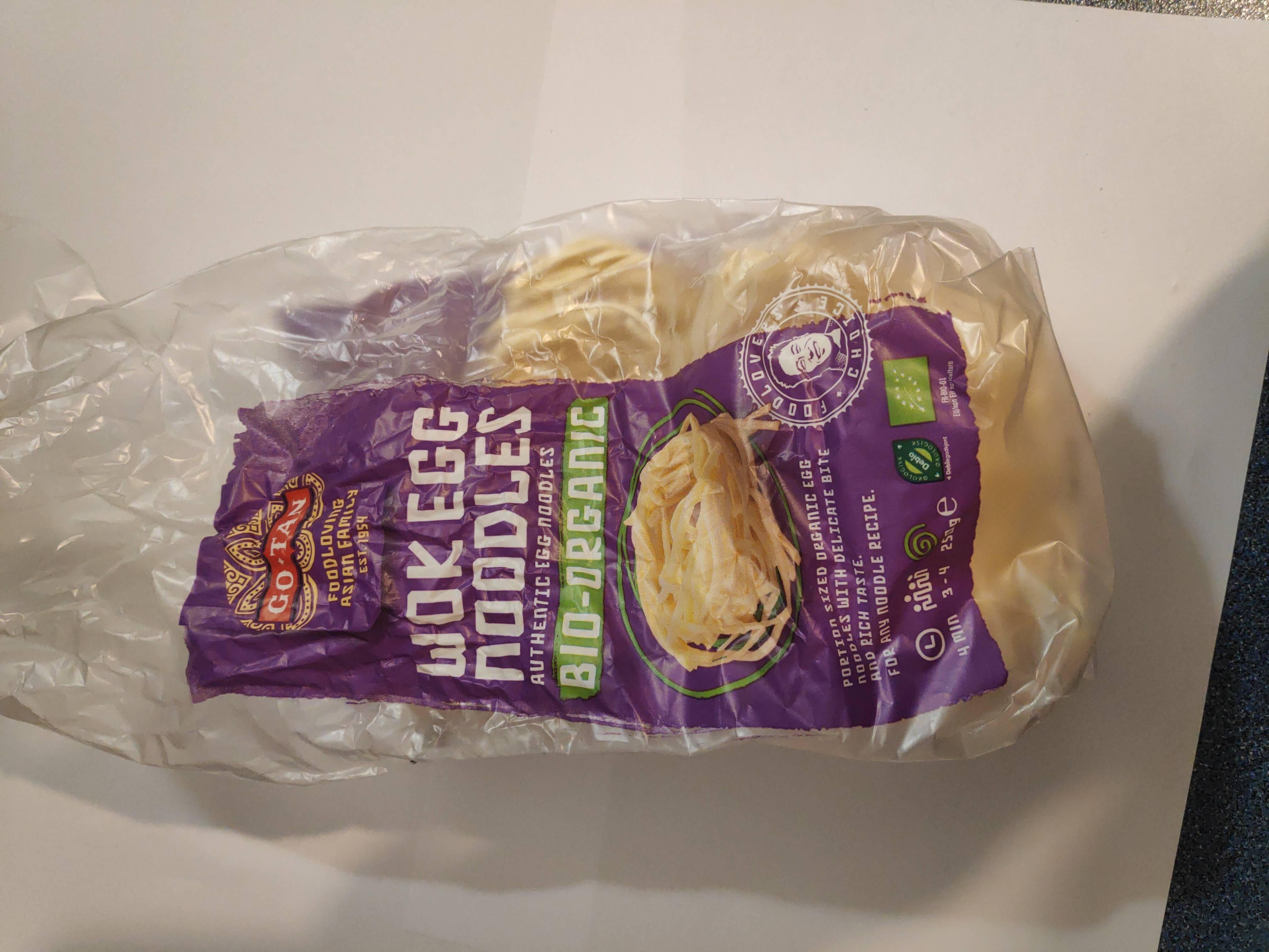 Go Tan Wok Egg Noodles - Product - nl