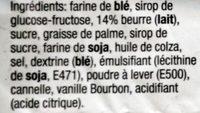 Stroopwafel Caramel - Ingrediënten - fr