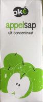 Appelsap uit concentraat - Product