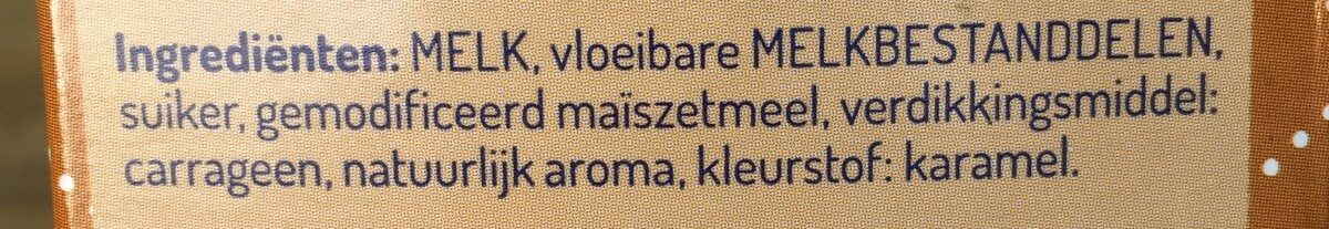 Karamel vla - Ingrédients - fr