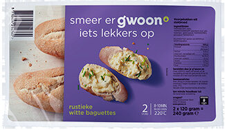 Baguettes rustiek wit - Product - nl