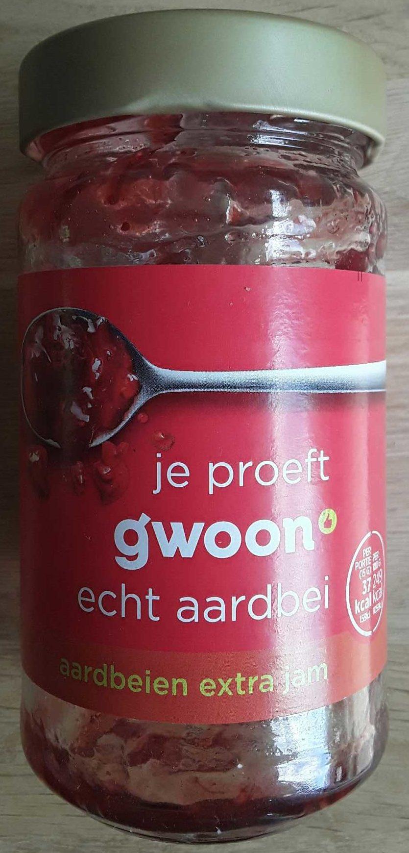 Aardbeien extra jam - Product - nl