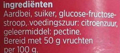 Aardbeien extra jam - Ingredients - nl
