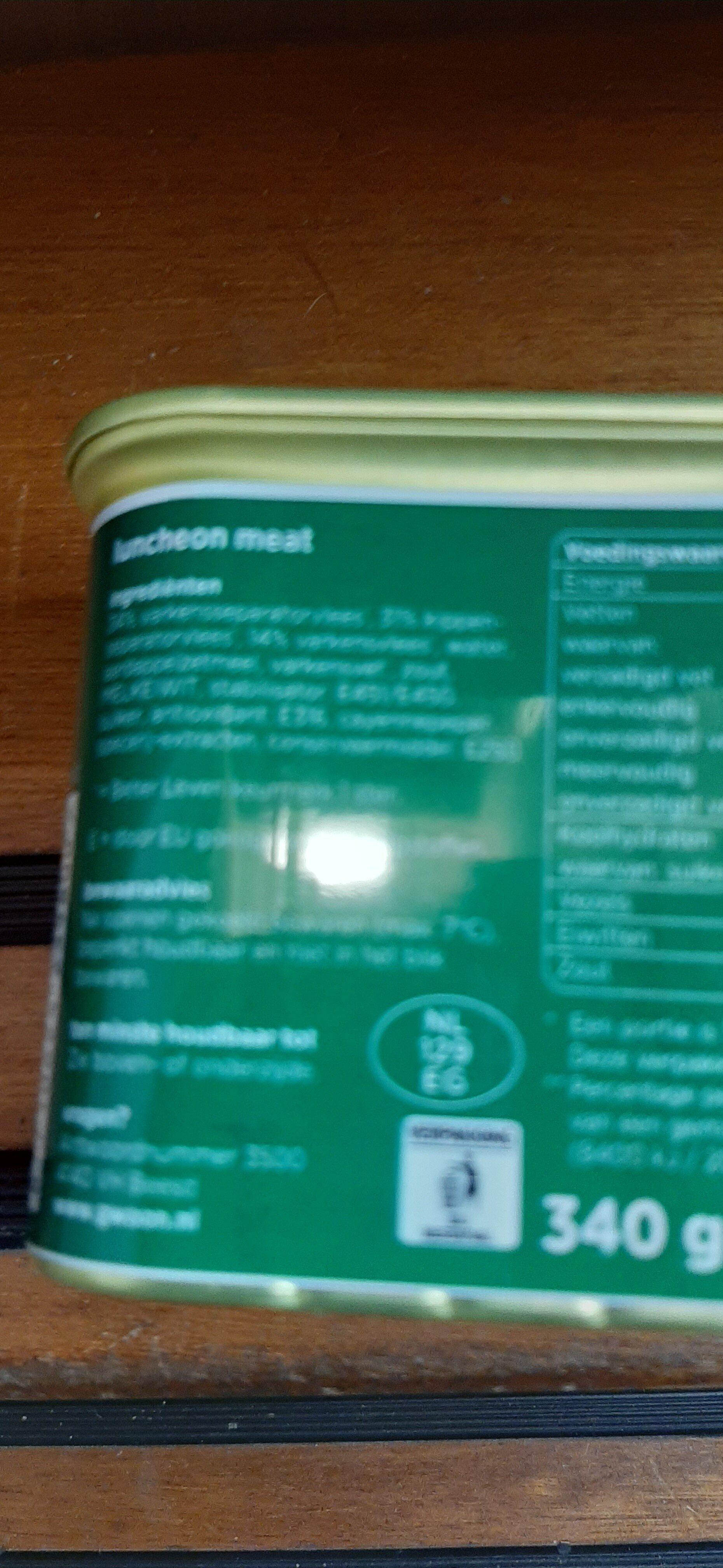 ham - Ingrediënten - en