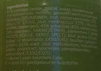 Gehaktballetjes in Satésaus - Ingredients - nl
