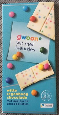 Witte regenboog chocolade - Product - nl