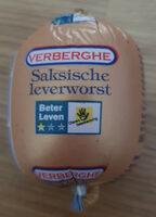 Saksische Leverworst - Product - nl