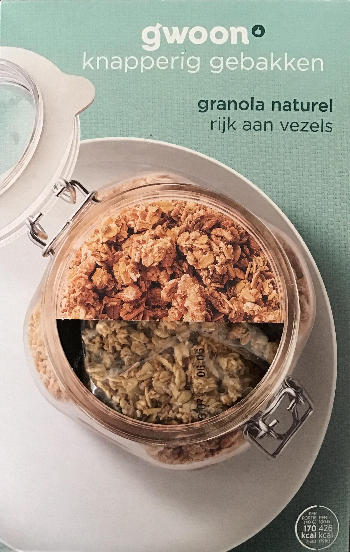 Granola naturel - Product - nl