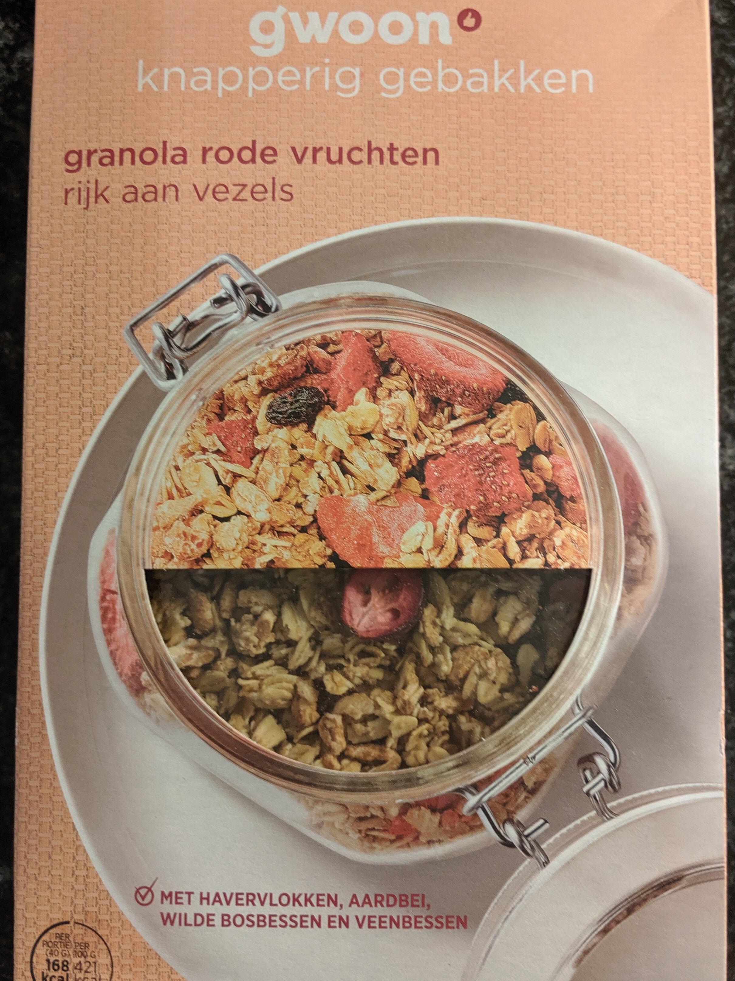 Granola rode vruchten - Product