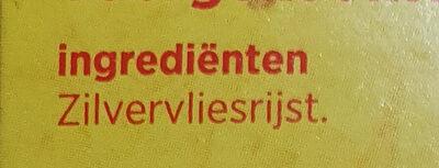 Zilvervliesrijst - Ingrediënten - nl