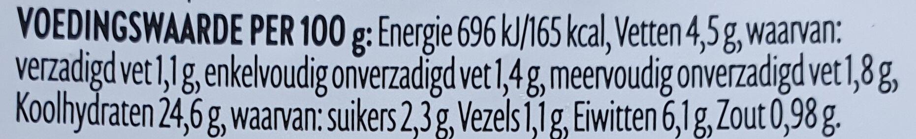 Oosterse Keuken Bami Goreng - Voedingswaarden - nl