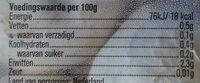 witte champignons, voordeelverpakking - Ingredients - nl