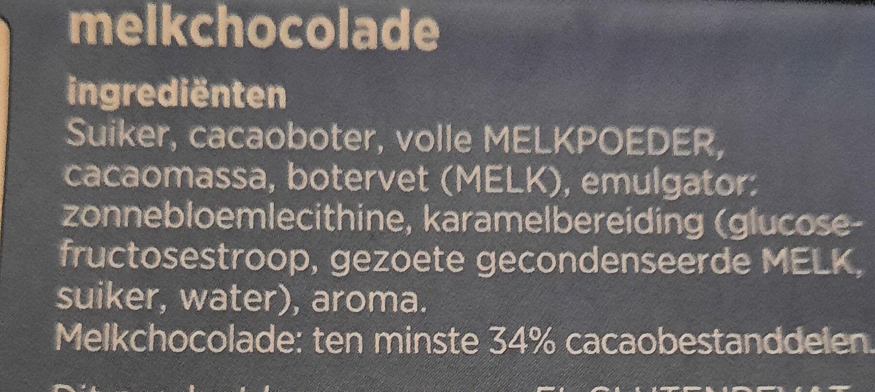 Melk Chocolade - Ingrediënten - nl