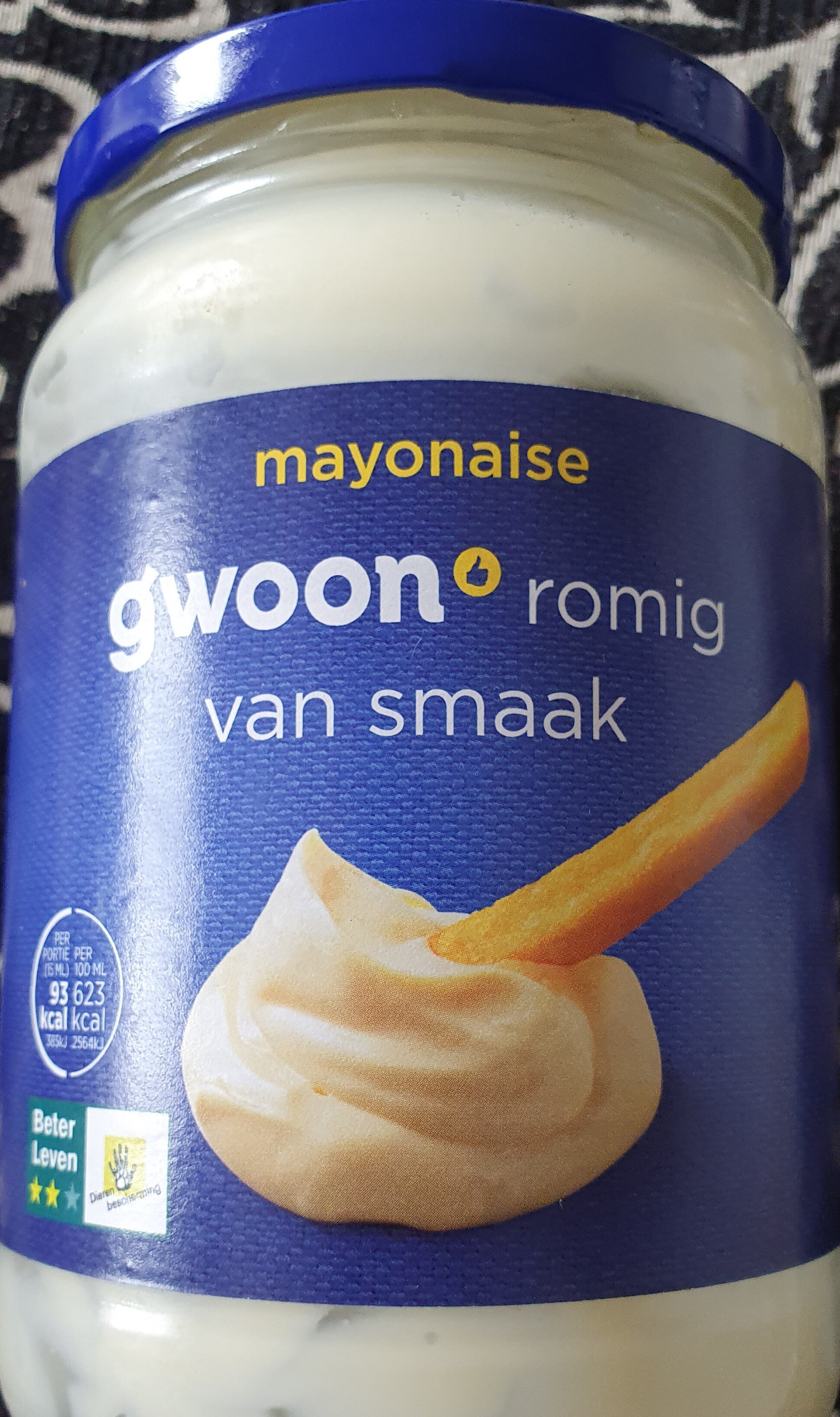 Mayonaise g'woon, romig - Product - nl