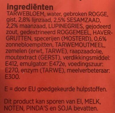Kampioentjes - Ingredients - nl