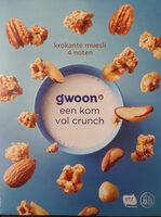 Krokante muesli 4 noten - Product - nl