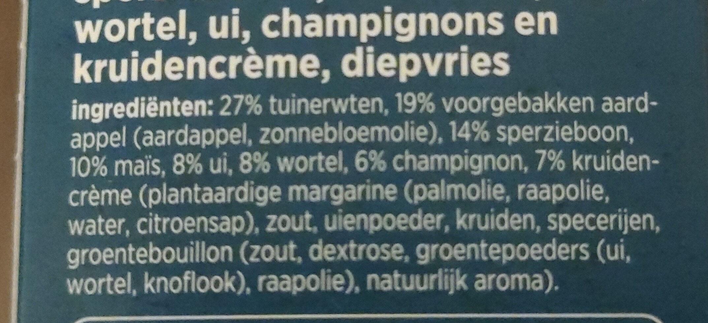 Hollands stijl roerbakmix - Ingredients - nl