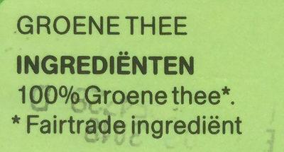 Groene thee - Ingrédients - nl